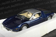 Minichamps MASERATI BORA 1970 DARK BLUE METALLIC 1/18