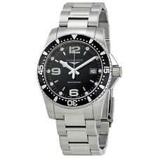 Longines HydroConquest Black Dial Mens Watch L37404566