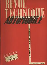 (C4) RARE GRAND FORMAT REVUE TECHNIQUE AUTOMOBILE 5T FORD CARGO Type FOYW-DIESEL