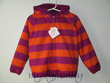 HANNA ANDERSSON Seven Days A Week Reversible Jacket Plume Orange 90 3T 3 NWT