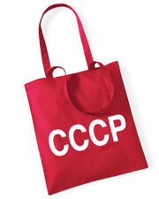 CCCP Cotton Bag Stoffbeutel rot