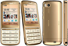 Nokia C3-01 - Gold Mobile Phone RARE with warranty
