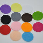 The 500pcs Felt 30mm Circle Appliques -13 Color Free Shipping-Pick color