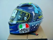 "AGV CORSA VR46 LIMITED EDITION 2015 MISANO ""SHARK"" HELMET SIZE M/S NEW 2016"