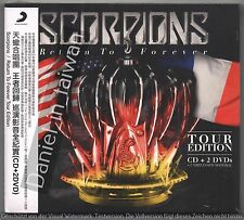 Scorpions: Return to forever Tour Edition (2016) CD & 2DVD OBI TAIWAN