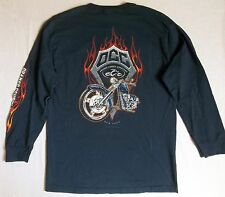 Mens ORANGE COUNTY Choppers T Shirt Sz M New York bikers riders cycle