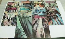 V For Vendetta #1-10 Complete Set VF 1st Prints DC Comics Alan Moore David Lloyd