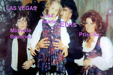 ELVIS PRESLEY LISA MARIE PRISCILLA BIRTHDAY PARTY LAS VEGAS PHOTO CANDID #2