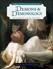 The Encyclopedia of Demons and Demonology by Rosemary Guiley (2009, Paperback)