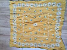 Used 50CM x 50CM square scarf by GUESS
