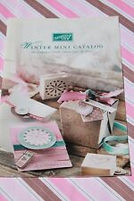 New Stampin Up WINTER MINI CATALOG - 2007, Retired Collectible