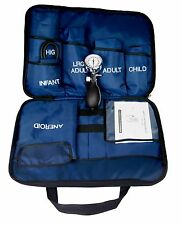 BLUE 5 CUFFS BLOOD PRESSURE ANEROID SPHYGMOMANOMETER CUFF SYSTEM- ALL SIZES