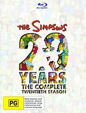 THE SIMPSONS : SEASON 20  -   Blu Ray - Sealed Region B