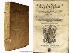 Bersuire: dictionarii sev repertorii moralis, Angelus, Antichristus, etc., 1574