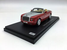 Kyosho 1:43 Rolls-Royce Phantom Drophead Coupe Ensign Red Diecast Model Car