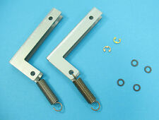 Sony PS-FL3 Turntable REPAIR PART - Original Hinge Set (Hinges / Lid Springs)