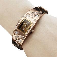 Femmes Bracelet Style Quartz Analogique Métal Montre Mode Fin Montres