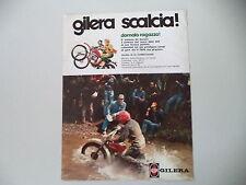 advertising Pubblicità 1975 MOTO GILERA 50 6V COMPETIZIONE