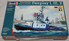 Revell Germany#5213 Harbour Tug Boat FAIRPLAY 1/144 scale plastic boat model kit