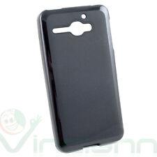 Pellicola+Custodia NERA per Alcatel One Touch Star 6010 cover TPU flessibile