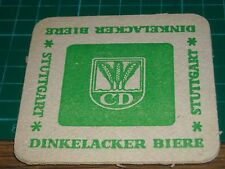 sottobicchiere beer mats birra bierdeckeL dinkelacker biere