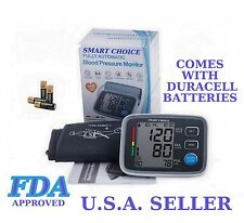 FDA Arm Blood Pressure Meter with WHO INDICATOR, FUZZY LOGIC  FDA Approved