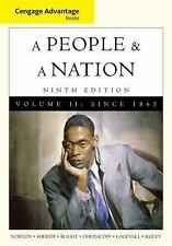 A People and a Nation : A History of the United States by David W. Blight,...