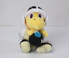 New Super Mario Bros. Plush Black Bomb Koopa Troopa Soft  Stuffed Animal Doll 8""