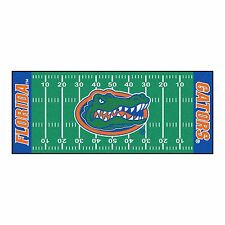 "Florida Gators 30"" X 72"" Football Field Runner Area Rug Floor Mat"