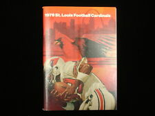 1979 St. Louis Cardinals NFL Media Guide