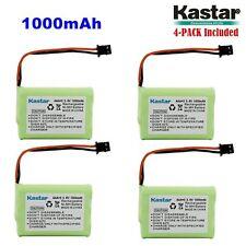 4 x 3.6V 1000mAh Cordless Phone Battery for Uniden BT-446 BT446 BT-1005 BT1005