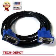VGA Cable Cord 6ft HD 15 pin Male to Male for Monitor Projector HDTV