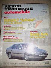 RENAULT Safrane 4 et 6 cyl - Revue Technique Automobile (R25 V6 PEUGEOT 205 GTi)
