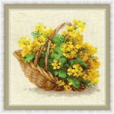 "Counted Cross Stitch Kit RIOLIS - ""Yellow Rapeseed"""