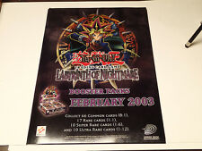 Yu-Gi-Oh CCG Labyrinth of Nightmare High Quality Promo Poster!! Upper Deck