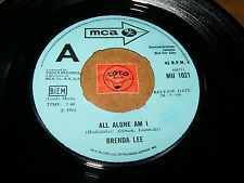 BRENDA LEE - LET'S JUMP THE BROOMSTICK - ALL ALONE AM I  / LISTEN - TEEN GIRL