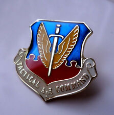 ZP335 U.S. Military Tactical Air Command Lapel Pin Badge Air force Bomber