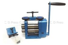 New 4 Rolle Blue Rolling Mill Combination Rolling Mill Jewelry Making Equipment