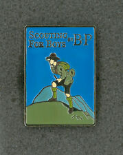 SCOUTS OF JAPAN (NIPPON) - SCOUTING FOR BOY by BADEN POWELL SCOUT SCARF WOGGLE C