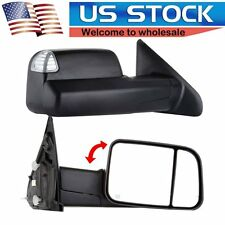 2002-08 Dodge Ram 1500 03-09 2500 3500 Tow Mirrors Power Heated Led Signals Pair