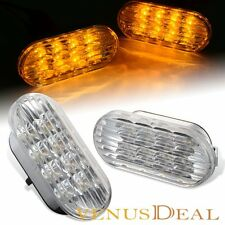 For 98-04 VW Golf Jetta Bora MK4 Passat B5.5 Amber LED Side Marker Signal Light