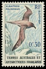 FRENCH ANTARCTICA 12 (Mi14) - Light-mantled Sooty Albatross (pf40475) FSAT