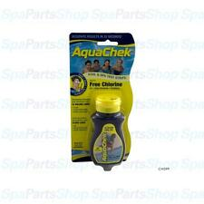 AquaChek Spa Hot Tub Pool Test Strips Yellow 4-in-1 Free Chlorine 50 Ct 511242A