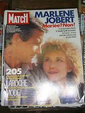 Paris Match N°1864 15 février 1985 Marlène Jobert Richard Berry Daniel Boulanger