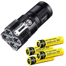 Nitecore TM26 Tiny Monster 3500-Lumen LED Flashlight + Rechargeable Batteries