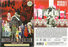 Mirai Nikki The Future Diary DVD Complete 1-26 +OVA Anime DVD (ENGLISH DUB)