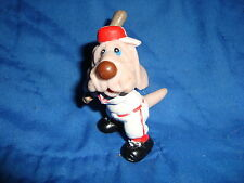 Wrinkles Ganz Bros PVC Figure Baseball Dog 2.25""