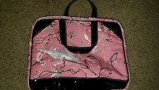 Mary Kay Star Consultant Prize Pink Patterned Bags 2008 Set of 3