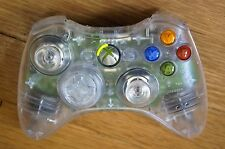 Microsoft Xbox 360 Wireless Controller in Replacement Translucent Shell