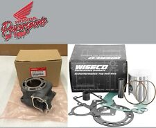 NEW 1998/1999 HONDA CR125R CR 125 OEM CYLINDER W WISECO PRO HIGH PER PISTON KIT